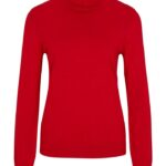 Comma Casual Id Feinstrick-Pullover rot