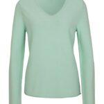 Comma Casual Id Feinstrick-Pullover grün